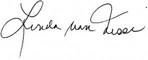 Linda Von Nessi signature